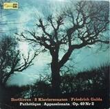3 Klaviersonaten: Sonate Nr.8 c-moll op.13* Sonate Nr.20 G-dur op. 49* Sonate Nr.23 f-moll op. 57 - Ludwig Van Beethoven/ Friedrich Gulda