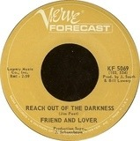 Reach Out Of The Darkness / Time On Your Side - Friend And Lover