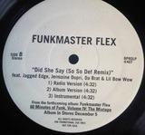I Don't Care / Did She Say (So So Def Remix) - Funkmaster Flex Featuring Jadakiss , Jagged Edge , Jermaine Dupri , Lil' Bow Wow & Da Brat