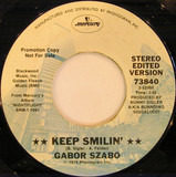 Keep Smilin' / Baby Rattle Snake - Gabor Szabo