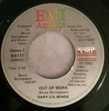Out Of Work / Bring Her Back - Gary U.S. Bonds