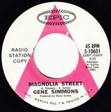 Magnolia Street / She's There When I Come Home - Gene Simmons