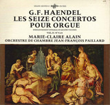 Les Seize Concertos Pour Orgue - Enregistrement Integral En Quatre Volumes - Vol. II - Nos 5 À 8 - Händel