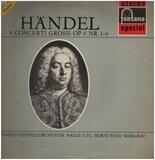 6 Concerti Grossi Op. 6 Nr. 1-6 - Georg Friedrich Händel , Händel Festspiel-Orchester Halle , Horst-Tanu Margraf