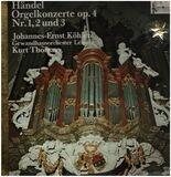 Orgelkonzerte Op. 4 Nr. 1, 2 Und 3 - Händel