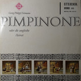 Pimpinone Oder Die Ungleiche Heirat - Georg Philipp Telemann