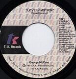 Love In Motion - George McCrae