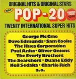 Pop 20 Twenty International Super Hits - George McCrae, Dave Edmunds, Oliver Onions