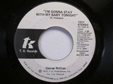 I'm Gonna Stay With My Baby Tonight - George McCrae
