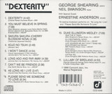 Dexterity - George Shearing With Special Guest Ernestine Anderson