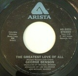 The Greatest Love Of All / Ali's Theme - George Benson / Michael Masser