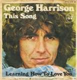 This Song / Learning How To Love You - George Harrison