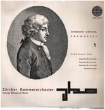 Concertino - Pergolesi - A. Jaunet, De Stoutz w/ Zürcher Kammerorchester