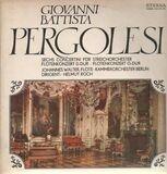 Sechs Concertini für Streichorchester, Flötenkonzerte D-Dur & G-Dur - Pergolesi