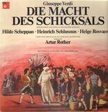 Die Macht des Schicksals,, Artur Rother, Hilde Scheppan - Giuseppe Verdi