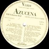 Verdi: Edizioni Rai 21 - Dal Trovatore Azucena - Giuseppe Verdi