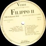 Verdi: Edizioni Rai 26 - Dal Don Carlos Filippo II - Giuseppe Verdi