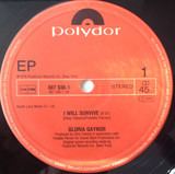 I Will Survive / Honey Bee / Never Can Say Goodbye - Gloria Gaynor