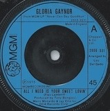 All I Need Is Your Sweet Lovin' - Gloria Gaynor