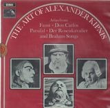 The Art Of Alexander Kipnis: Arias from Faust, Don Carlos,.. - Gounod, Verdi,..