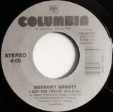 I Got The Feelin' (It's Over) / Shake You Down - Gregory Abbott