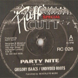 Party Nite - Gregory Isaacs / Undivided Roots