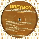 To Know You Is To Love You (Platinum Pied Pipers And Red Astaire Remixes) - Greyboy
