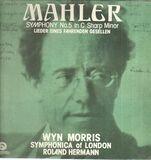 Symphony No.5 In C Sharp Minor / Lieder Eines Fahrenden Gesellen - Gustav Mahler - Symphonica Of London , Wyn Morris , Roland Hermann
