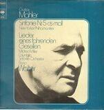 Sinfonie Nr. 5 Cis-Moll / Lieder Eines Fahrenden Gesellen - Gustav Mahler / The New York Philharmonic Orchestra , Mildred Miller , Orquesta Sinfónica Columbia