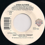 Can't Love You Tonight - Gwen Guthrie