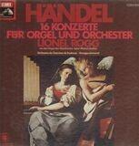 16 Konzerte für Orgel und Orch, Lionel Rogg - Händel