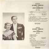 Jussi Bjoerling - Händel / Schubert / Beethoven