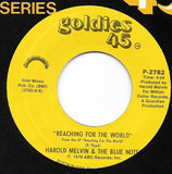 Reaching  For The World / Baby, You Got My Nose Open - Harold Melvin And The Blue Notes