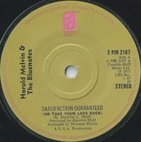 Satisfaction Guaranteed (Or Take Your Love Back) - Harold Melvin And The Blue Notes