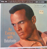 An Evening With Belafonte - Vol. III - Harry Belafonte