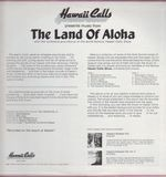 The Land Of Aloha - Hawaii Calls