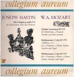 Salve Regina g-moll 1771 * Litaniae lauretanae KV109* Kirchensonate C-dur KV 278* Kirchensonate C-d - Haydn, Mozart/ Collegium aureum