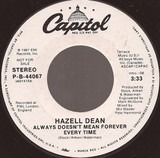 Always Doesn't Mean Forever Every Time - Hazell Dean