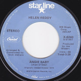 Angie Baby / Emotion - Helen Reddy