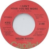 I Can't Hear You No More - Helen Reddy
