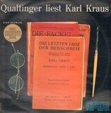 Die letzten Tage der Menschheit - Eine Auswahl - Helmut Qualtinger