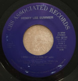 "I Wish I Had A Girl (7"" edit) - Henry Lee Summer"