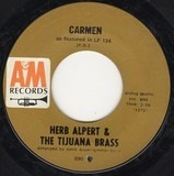 Carmen / Love So Fine - Herb Alpert & The Tijuana Brass