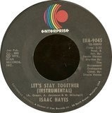 Let's Stay Together / Soulsville - Isaac Hayes