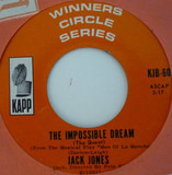 The Impossible Dream (The Quest) / My Best Girl - Jack Jones