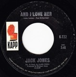 And I Love Her - Jack Jones