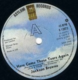 Here Come Those Tears Again - Jackson Browne