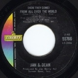 (Here They Come) From All Over The World - Jan & Dean