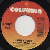 You Don't Know Love / Heart To Heart Talk - Janie Fricke