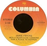 He's A Heartache (Looking For A Place To Happen) / Tryin' To Fool A Fool - Janie Fricke
